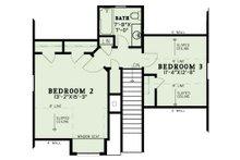 Country Floor Plan - Upper Floor Plan Plan #17-3406