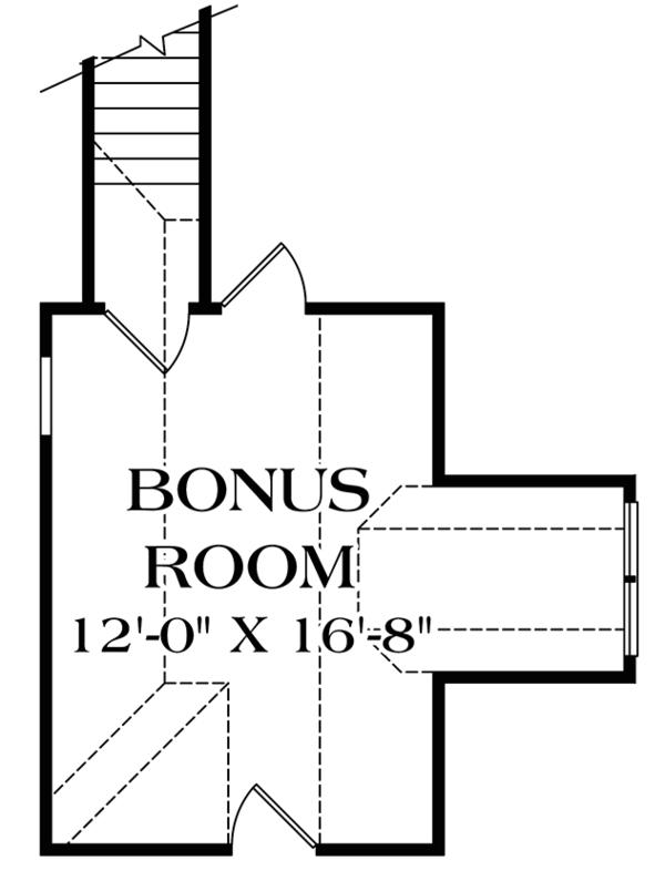 Traditional Floor Plan - Other Floor Plan Plan #453-622