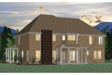 Architectural House Design - Traditional Exterior - Rear Elevation Plan #937-22
