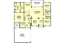European Floor Plan - Main Floor Plan Plan #430-90