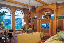 House Plan Design - Mediterranean Interior - Family Room Plan #417-527