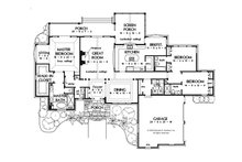 European Floor Plan - Main Floor Plan Plan #929-942