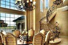 Architectural House Design - Mediterranean Interior - Dining Room Plan #930-442