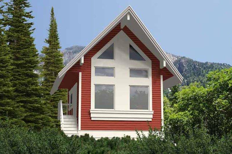 House Plan Design - Contemporary Exterior - Front Elevation Plan #118-157