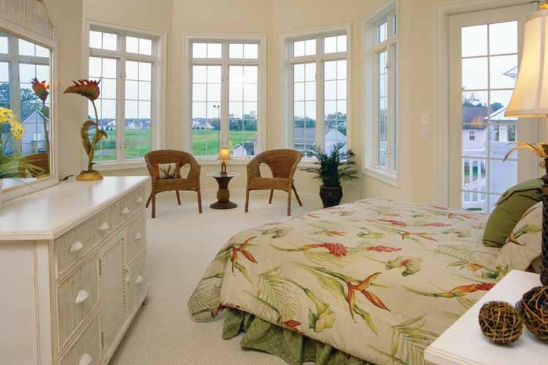 Country Interior - Master Bedroom Plan #930-140 - Houseplans.com
