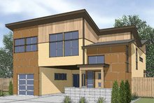 Contemporary Exterior - Front Elevation Plan #569-13