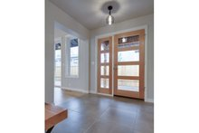 Ranch Interior - Entry Plan #124-983
