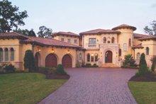 House Plan Design - Mediterranean Exterior - Front Elevation Plan #453-617