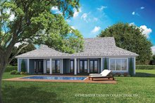 Home Plan - Country Exterior - Rear Elevation Plan #930-467