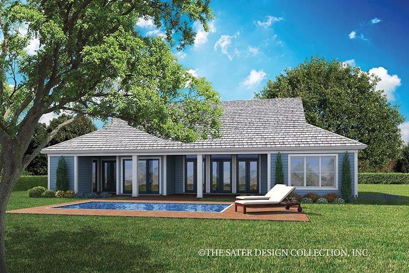 Country Exterior - Rear Elevation Plan #930-467 - Houseplans.com
