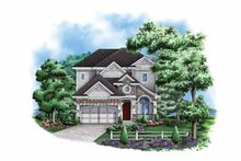 Home Plan - Traditional Exterior - Front Elevation Plan #1017-128