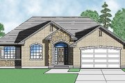 Traditional Style House Plan - 3 Beds 2.5 Baths 1612 Sq/Ft Plan #5-113