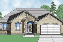 Architectural House Design - Traditional Exterior - Front Elevation Plan #5-113