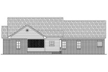 Country Exterior - Rear Elevation Plan #21-145