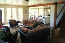 Dream House Plan - farmhouse family room