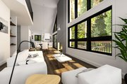 Modern Style House Plan - 3 Beds 2 Baths 1086 Sq/Ft Plan #23-2023 Interior - Family Room