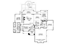 Farmhouse Floor Plan - Main Floor Plan Plan #929-1063