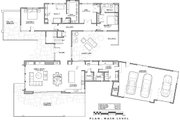 Contemporary Style House Plan - 3 Beds 3.5 Baths 3345 Sq/Ft Plan #892-23 Floor Plan - Main Floor Plan