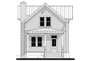 Traditional Style House Plan - 3 Beds 2.5 Baths 1628 Sq/Ft Plan #464-4 Exterior - Front Elevation
