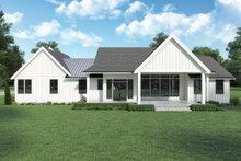 Dream House Plan - Farmhouse Exterior - Rear Elevation Plan #1070-141