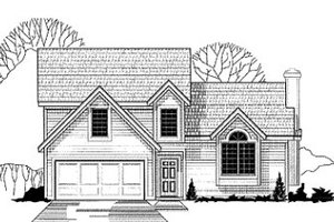 Traditional Exterior - Front Elevation Plan #67-121