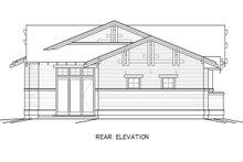 Home Plan - Craftsman Exterior - Rear Elevation Plan #895-21