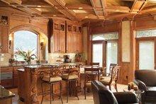 Home Plan - Mediterranean Interior - Kitchen Plan #70-1399