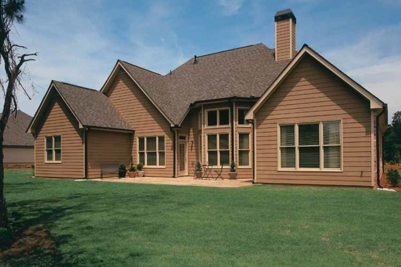 Country Exterior - Rear Elevation Plan #927-287 - Houseplans.com