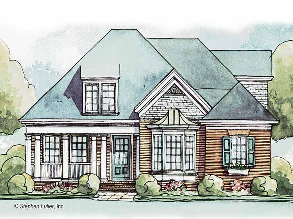 Country style house plan 3 beds 3 baths 2391 sq ft plan for 429 plan
