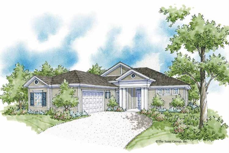 Classical Exterior - Front Elevation Plan #930-370 - Houseplans.com