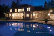European Style House Plan - 5 Beds 4.5 Baths 5158 Sq/Ft Plan #929-479 Exterior - Rear Elevation