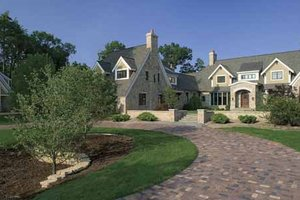 Country Exterior - Front Elevation Plan #928-183