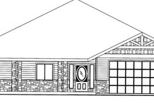 Architectural House Design - Traditional Exterior - Front Elevation Plan #117-834