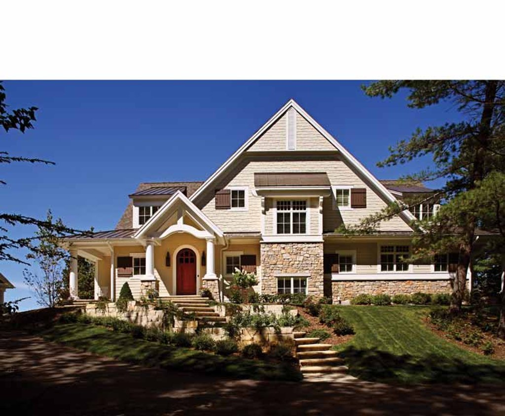 Craftsman style house plan 5 beds 4 5 baths 4964 sq ft for Craftsman vs mission style