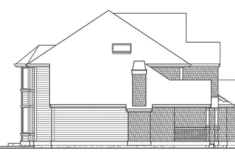 Craftsman Exterior - Other Elevation Plan #132-412 - Houseplans.com