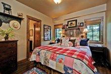 House Design - Cabin Interior - Master Bedroom Plan #942-25