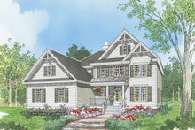 House Plan Design - Traditional Exterior - Front Elevation Plan #929-561