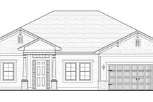 House Plan Design - Colonial Exterior - Front Elevation Plan #1058-122