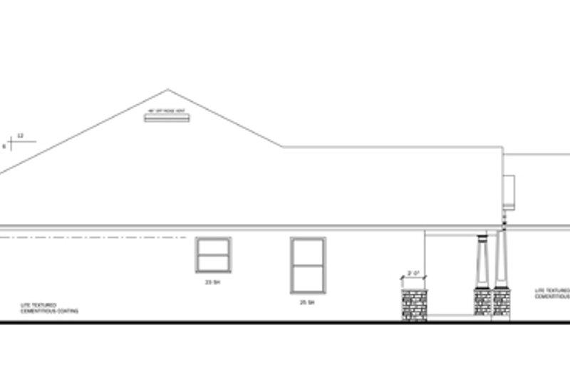 Craftsman Exterior - Other Elevation Plan #1058-29 - Houseplans.com
