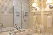 Craftsman Style House Plan - 6 Beds 4.5 Baths 3877 Sq/Ft Plan #928-252 Interior - Master Bathroom