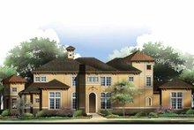 House Plan Design - Mediterranean Exterior - Front Elevation Plan #952-210