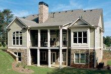 Craftsman Exterior - Rear Elevation Plan #927-917