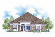 Country Style House Plan - 3 Beds 2.5 Baths 2576 Sq/Ft Plan #938-14 Exterior - Front Elevation