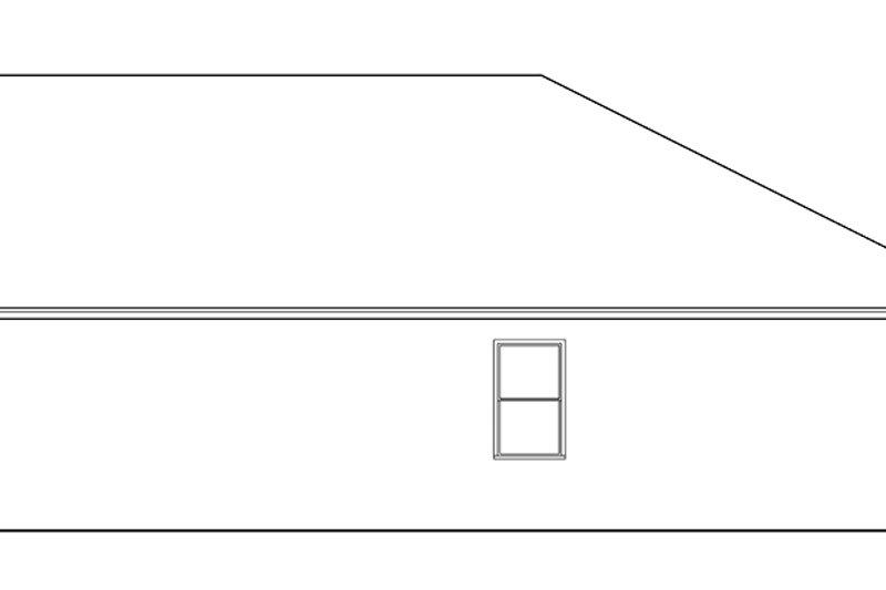 Mediterranean Exterior - Other Elevation Plan #1058-92 - Houseplans.com