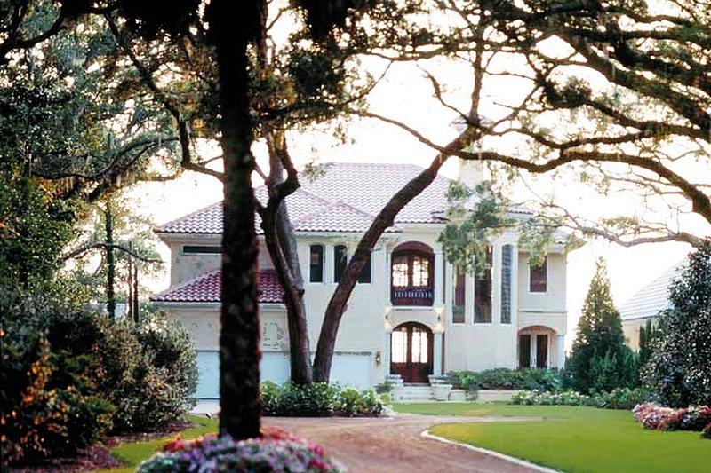 House Plan Design - Mediterranean Exterior - Front Elevation Plan #930-283
