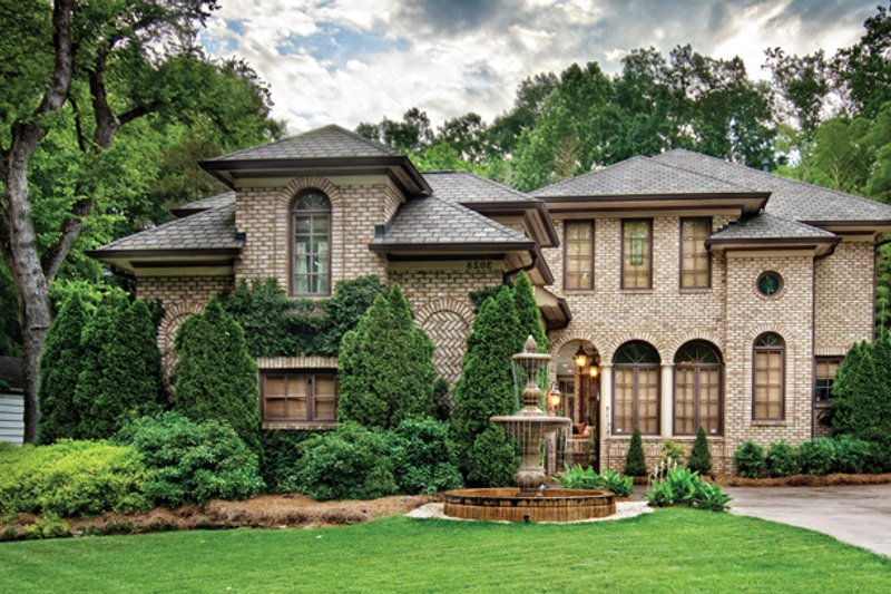 Mediterranean Exterior - Front Elevation Plan #930-70 - Houseplans.com