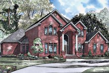 House Plan Design - Traditional Exterior - Front Elevation Plan #17-3024