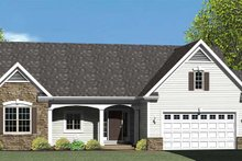 House Plan Design - Ranch Exterior - Front Elevation Plan #1010-70