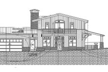 Dream House Plan - Contemporary Exterior - Front Elevation Plan #1042-16