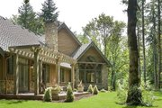 Craftsman Style House Plan - 5 Beds 5.5 Baths 5250 Sq/Ft Plan #48-466 Exterior - Rear Elevation
